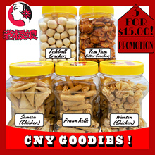 CNY GOODIES PROMO ! MIX AND MATCH 3 BOTTLES FOR $15.00 ONLY !!!