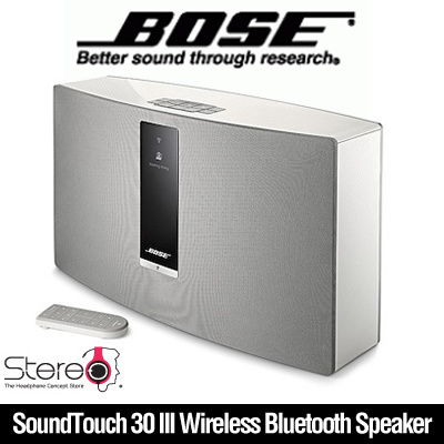 StereoBOSE SoundTouch 30 III Wireless Bluetooth Speaker Stereo Music Home  Theater Support Dual-band Wi-Fi