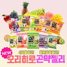 Orihiro Japanese peach fruit flavor konjac jelly (12 seeds 1)