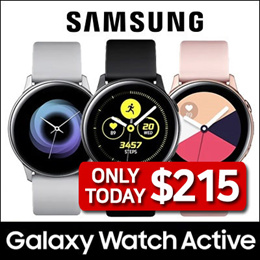 2873866b5 [SAMSUNG] Galaxy Watch Active Bluetooth 40mm ☆ Smart Watch GPS Sports Band  ☆ Android