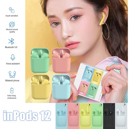 i12 TWS Wireless Bluetooth EarBuds *FREE 1 Mth Warranty* Headphone Headset Earphone Apple/Android