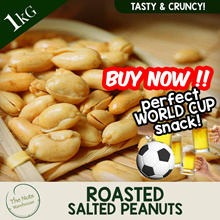 UNBEATABLE PRICE [1kg] Roasted Salted Peanuts