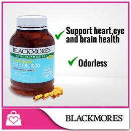 Blackmores Odourless Fish Oil 1000 400caps
