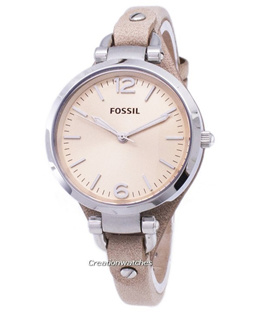 [CreationWatches] Fossil Georgia Sand Leather ES2830 Womens Watch