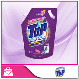 [Top] Concentrated Liquid Detergent (Super Low Suds) Refill 1.6kg x 6