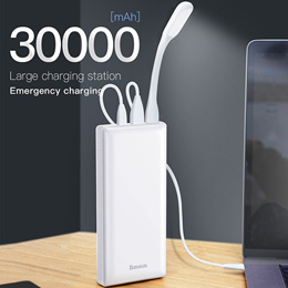 Baseus 30000mAh Power Bank USB C PD Fast Charging 30000 mAh Powerbank For Xiaomi mi 9 redmi  note 7