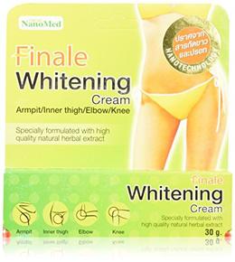 New Finale Skin Whitening Cream Elbow Armpit Bikini Line Nanotechnology Amazing Thailand Mr. Bean Body Coffee Scrub With Coconut Oil Coconut 220g Pack of 2