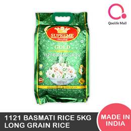 [TSP] Supreme Gold 1121 Basmati Rice 5kg|Long grain rice|Made in India