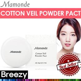 [BREEZY] MAMONDE ★ Cotton Veil Powder Pact 12g