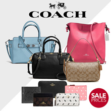 [COACH] *From $55.5~* ❤️NEW MEN/WOMEN Brand Bags and Wallets💜 Direct From USA 100% AUTHENTIC