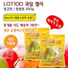 [Coco Land] LOT100 Fruit Jelly 250G / Mango / Fruit Comprehensive / Various fruit flavor / Natural