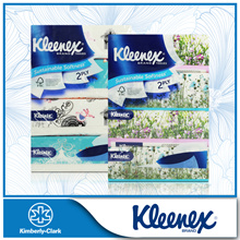 [KLEENEX] Classic / Garden Soft Box Facial Tissue 2-Ply (4x180 Sheets)