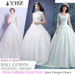 Ball Gown Sleeveless Lace Crystal White Wedding Dress Ivory Satin Church Chapel Train Wedding Gown