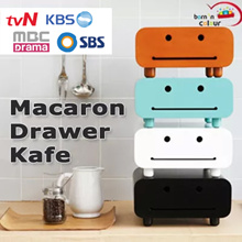 Macaron Drawer/ Cabinet Kafe / Original Design featured in Korean Dramas and Variety Shows
