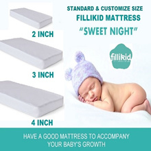 Standard/Customized Cot /Playpen Baby Mattress