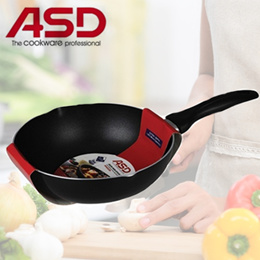 ASD 22CM | 26CM| Non Stick StirFry Pan | frying pan wok cooking!!!READY STOCKS AVAILABLE!!!