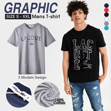 FREE SHIPPING_Graphic Mens T-shirt_Size S-XL_3 Style_6 Colors