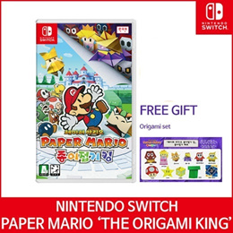 【Ready Stock】 Nintendo Switch Paper Mario Origami King RPG Adventure / Release on 17 July 2020