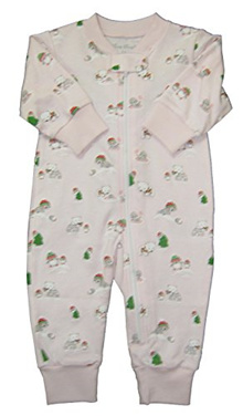 5a6fdb003 [KISSY KISSY] Baby-Girls Infant Arctic Adventures Pajama Playsuit With  Zipper