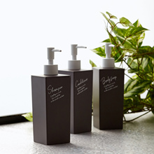 Francfranc Tisa Dispenser Shampoo S Gray