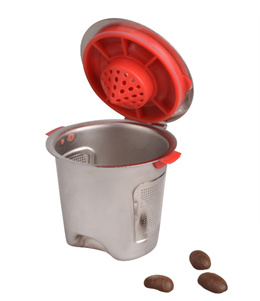 Coffee filter stainless steel hardware cup coffee machine filter capsule cup 004