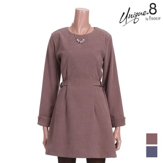 森SOUPフェミニンAラインワンピースSTJOP18 面ワンピース/ 韓国ファッション