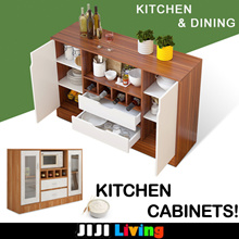 Kitchen Cabinets | Shelf | Rack ★Organizer ★Furniture ★Storage ★Kitchen and Dining