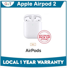 [National Day Promo] Apple Airpods 2 / Local Set / 1 year warranty / Bluetooth earphones