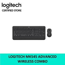 Logitech MK545 Advanced Wireless Keyboard Mouse Combo 1 Year Warranty 920-008696