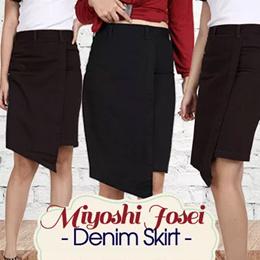 BUY 1 GET 1 Miyoshi Josei Skirt DCM001BK-BN - ORIGINAL BRANDED SKIRT - Premium skirt - Celana wanita - Best Quality - Indigoclusters