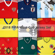★Buy Get Free Gift★2018 FIFA Wold Cup Jersey Set★ ● SOCCER JERSEY SET / Men / Kids● 2018 Wold Cup JERSEY / JERSEY / Mens Kids Flat Price