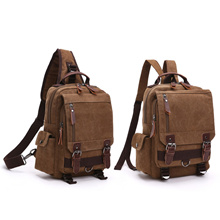 ZLD Canvas Backpack Cross Bag