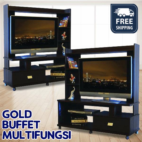 GOLD BUFFET MULTIFUNGSI BEST PRICE GRATIS ONGKIR JABODETABEK Deals for only Rp847.900 instead of Rp847.900