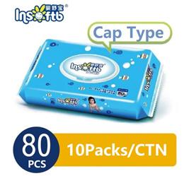 ★$1.50 Sample★ 80pcs Wipes ONLY $1.50 ★Insoftb Wipes 1 pack  80pcs Cap type★