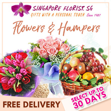 [Singapore Florist] Flower Hand Bouquet and Hampers. 20 Choices. FREE Same Day Delivery/Store Pickup
