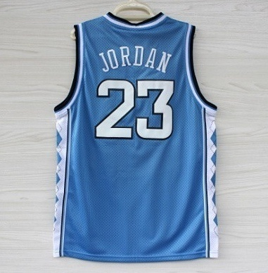 pretty nice c56e5 7c508 Cheap Michael Jordan - North Carolina Jersey in Blue , Jordan #23 Collage  Basketball Jerseys size S-XXL