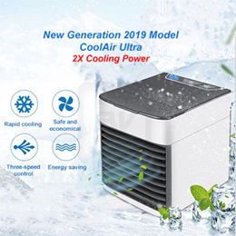 ★Similar as JML★Portable USB 3 in 1 Arctic Air Cooler. Fast Cooling Humidify and Purify
