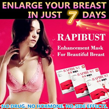 LUXGERIE♥RAPIBUST Breast Enhancement Mask 4 Boxes(16pcs) ♥ For Your Beautiful Bust Enlargement Lift♥