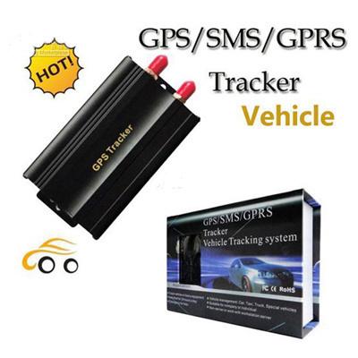Car GPS Tracker 103 GPS / SMS / GPRS Tracker Vehicle Tracking System  Automotive Remote Setup By Mobi