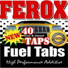 ✮ NO. 1 Fuel Additive 【40 taps】 ✮1Bottle=1Tap Ferox.MORE POWER and MILEAGE in your cars! engine treatments! Save up to 20% on fuel/ Made in USA  KOREA.(USA EPA PASS)/Audi/BMW/Honda/Lexus/Toyota/MAZDA