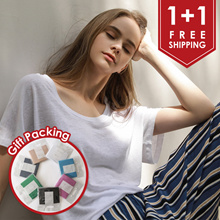 [CHICHERA] ♥ 1+1 ♥ Free Shipping ♥ Free Gift Packing ♥ Premium Linen T Shirts