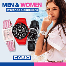 [Anywatch] Jam Tangan Casio Pria dan Wanita - 50 Models - Buy 2 Get Free Shipping Jabodetabek