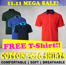 [11.11 Mega SALE!] ]Cotton Material Polo Shirt - cooling comfortable Suitable for everyday wear!