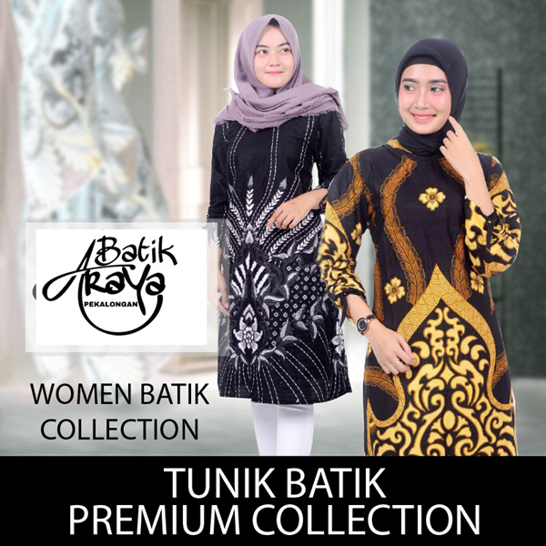 [ WOMEN COLLECTION ] TUNIK BATIK PREMIUM QUALITY | 100% COTTON All size Deals for only Rp129.000 instead of Rp159.259