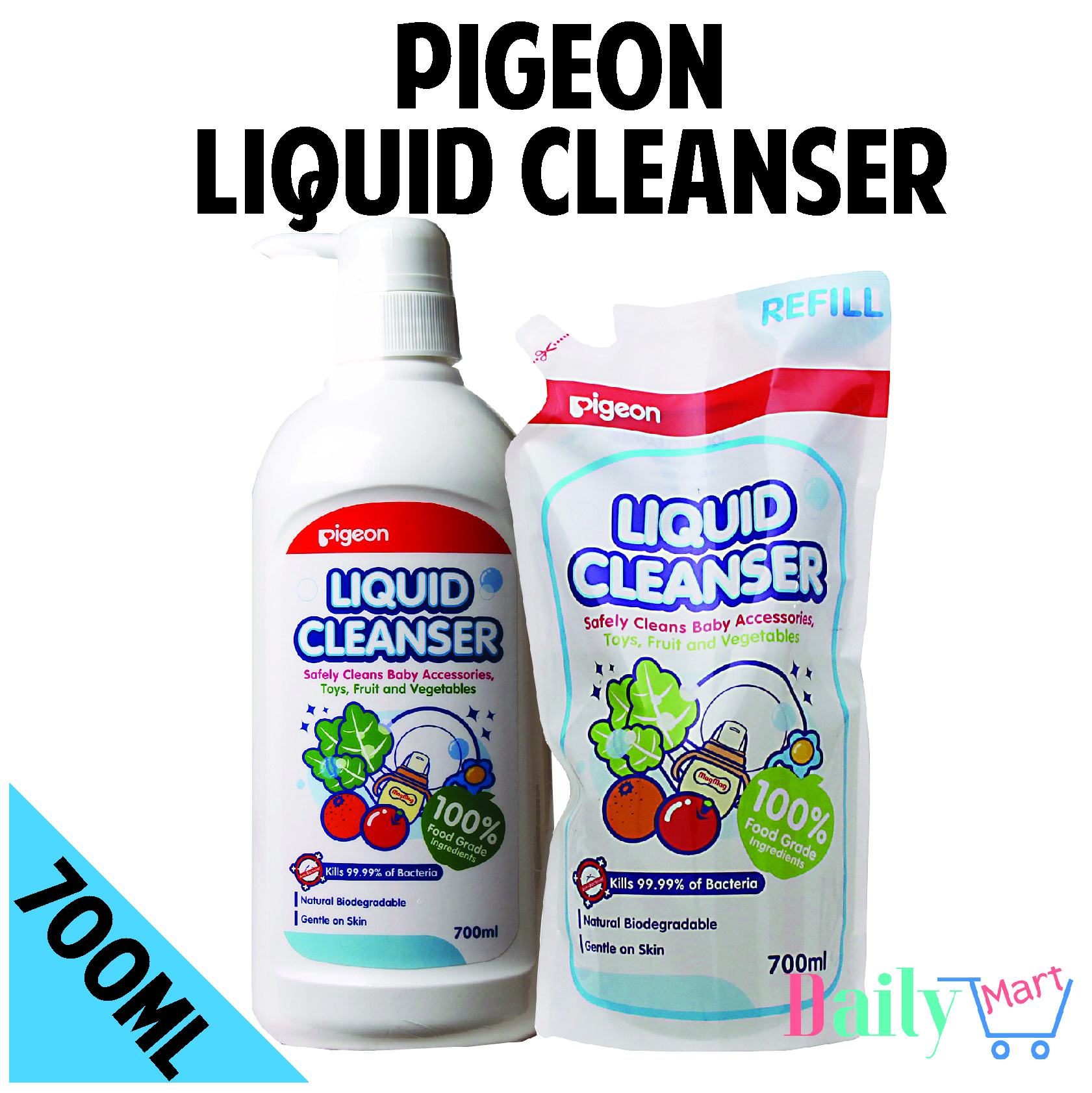 Qoo10 Pigeon Cleanser Baby Maternity Wash 2in1 Refill 600ml Show All Item Images