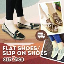 Buy 1 Get 1 Free  FlatShoes  / Sepatu Wanita  (MODEL UPDATE)
