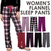 Branded Ladies Flannel Sleep Pants_100% Cotton Pajama Pants 7 Motif Comfortable Material_Celana tidur wanita sleep wear