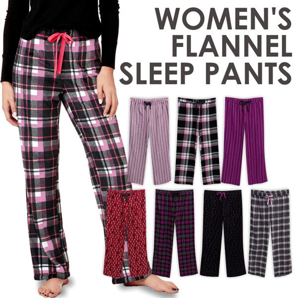 Branded Ladies Flannel Sleep Pants_100% Deals for only Rp55.000 instead of Rp55.000