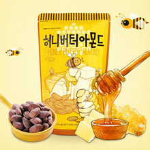 Honey Butter Almond 250g!! recomended item