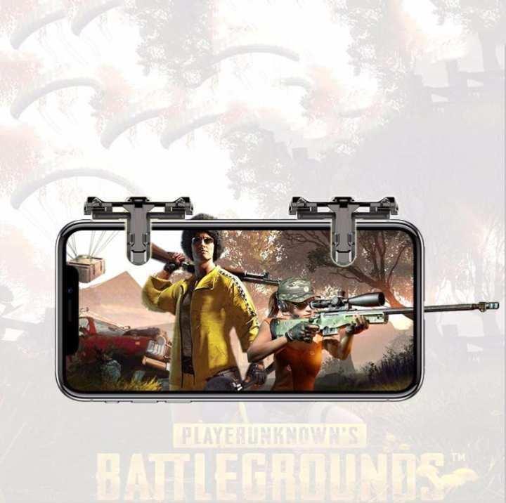 Yuero 1Pair CJ06 Metal PUBG ROS Eat Chicken Shooting Games Shortcut Key  Joystick L1R1 Shooter Contro